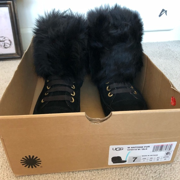 UGG Shoes   Ugg Antoine Fur Boot New